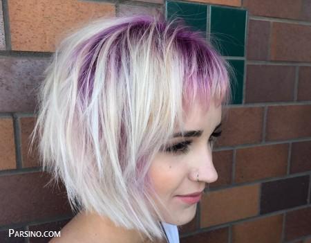 موی کوتاه جدید , مدل مو کوتاه برای پروفایل , موی کوتاه زنانه