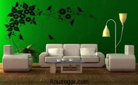 طراحی دکوراسیون منزل، طراحی دکوراسیون منزل رنگ سال 2017، طراحی دکوراسیون منزل رنگ سبز