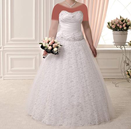 لباس عروس های کار شده, مدل لباس عروس های سایز بزرگ