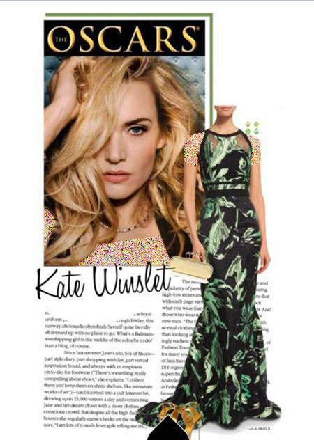 مدل لباس های شب کیت وینسلت, ست های لباس شب