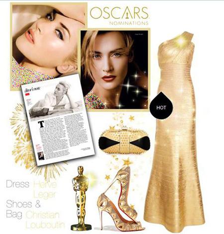 مدل ست های لباس شب,ست لباس شب به سبک کیت وینسلت